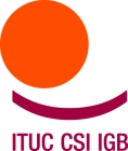 International Trade Union Confederation (ITUC) logo