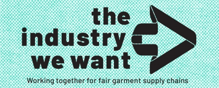 The industry we want, logo