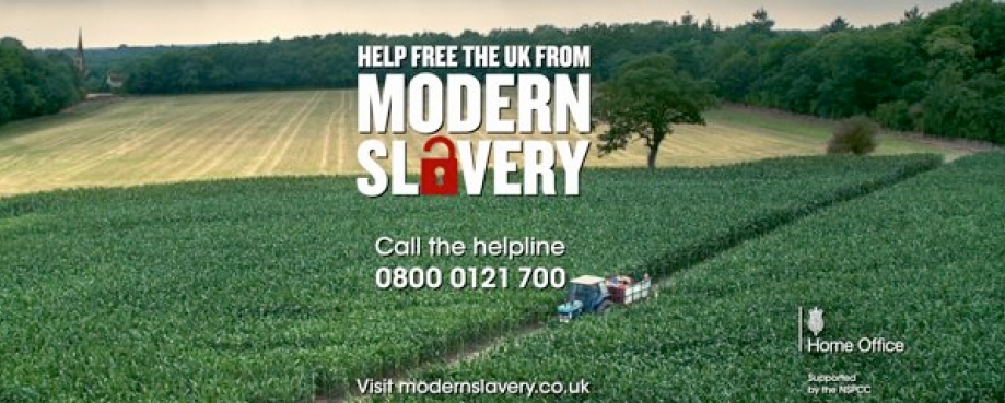 Home office campaign, Free the UK from modern slavery