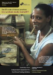 ETI/IDS Impact assessment report summary cover