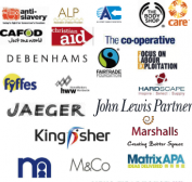 Logos of signatory brands