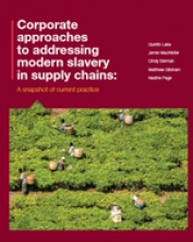 Corporate approaches to tackling modern slavery
