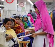 Women workers, garments factory