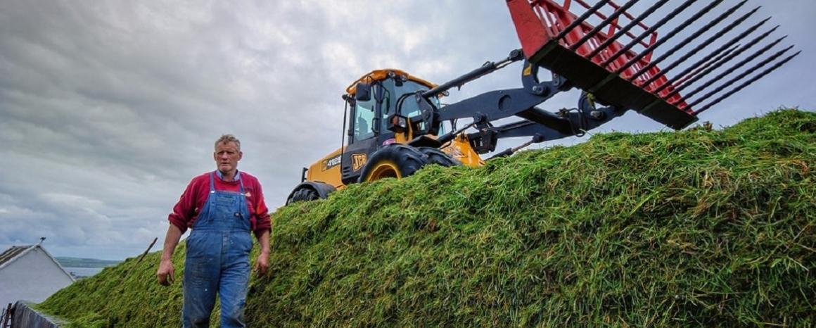 Irish Farmer and tractor