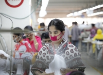 Garment workers in Bangladesh courtesy of the ILO