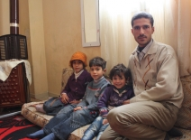 ©European Union/ECHO/Caroline Gluck Syrian refugee, Waddah and his family